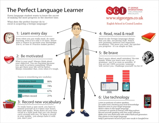 the PERFECT LANGUAGE LEARNER